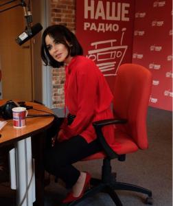 Тина Канделаки на НАШЕм Радио