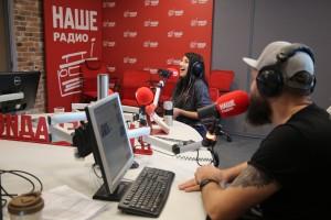 Лусинэ Геворкян о презентации альбома «Полюса» в эфире утреннего шоу «Подъёмники» на НАШЕм Радио