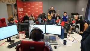 «Mgzavrebi» исполнили песни с нового альбома на НАШЕм Радио