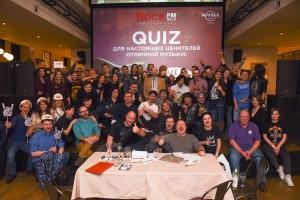 ROCK FM объединил более 150 человек на викторине QUIZ