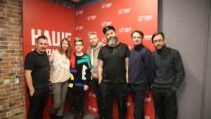 Группа «Аффинаж» в полном составе побывала на НАШЕм Радио