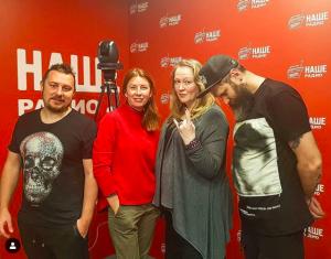 «На мой взгляд рэп — это современная, очень понятная и энергетически насыщенная поэзия»: актриса и режиссер театра и кино Юлия Ауг побывала в гостях у «Подъемников»