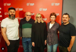 Джоанна Стингрей о своей новой книге, Борисе Гребенщикове и трудностях русского языка — на НАШЕм Радио